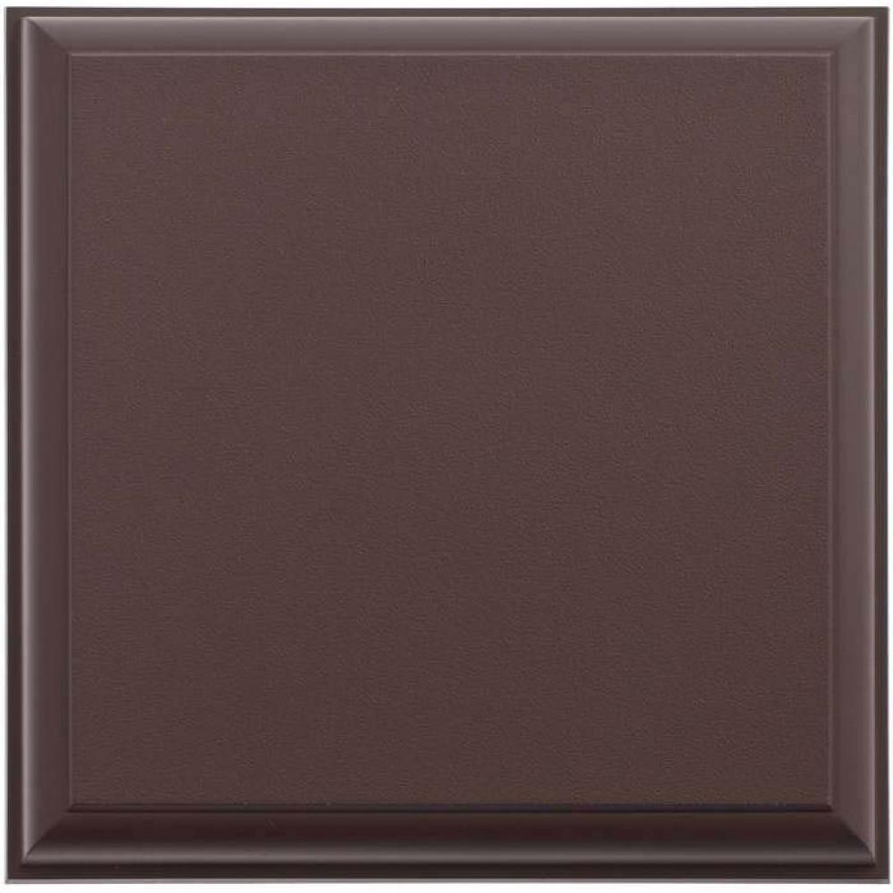 Отделочный элемент № 2 (коричневый), 0,25 х 0,25 м.