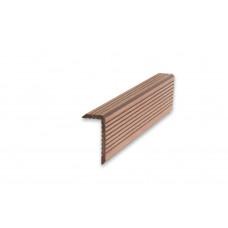 Уголок ДПК, ArtDeco, 35*70*3000 (Шоколад)