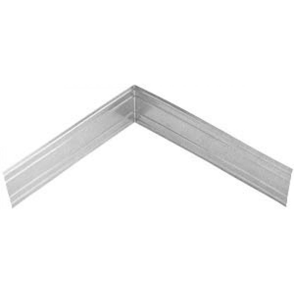 Система крепления фасадов Угловой элемент металл. для обрешётки