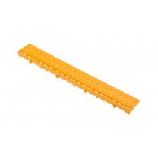 Боковой элемент обрамления с замками, цвет Желтый