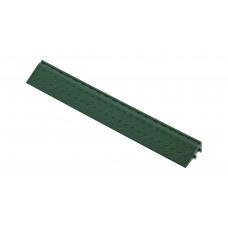 Боковой элемент обрамления с пазами под замки, цвет Зеленый