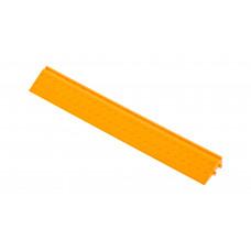 Боковой элемент обрамления с пазами под замки, цвет Желтый
