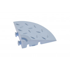 Угловой элемент обрамления, цвет Голубой