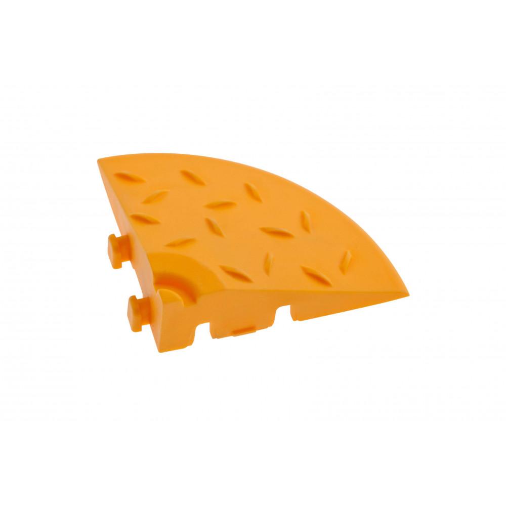 Угловой элемент обрамления, цвет Желтый