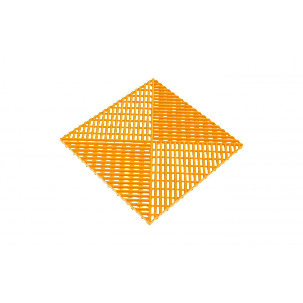 Решётка с дополнительным обрамлением, цвет Желтый