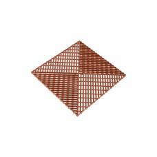 Решётка с дополнительным обрамлением, цвет Коричневый