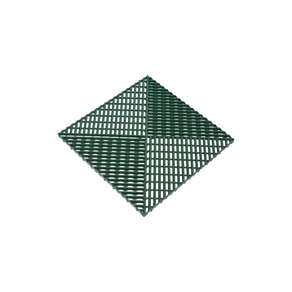 Решётка с дополнительным обрамлением, цвет Зеленый