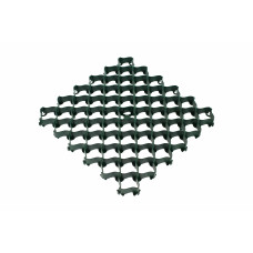 Решётка усиленная с высоким профилем, цвет Зеленый
