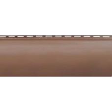 Сайдинг Blockhouse Премиум Красно-коричневый ВН-01