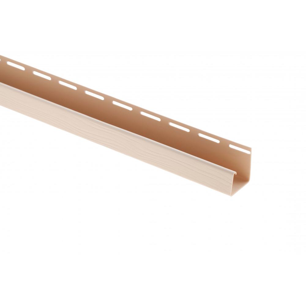 "Планка ""J - trim"", 3660 мм, цвет Белый BH"