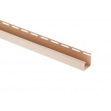 """Планка """"J - trim"""", 3660 мм, цвет Бежевый BH"""