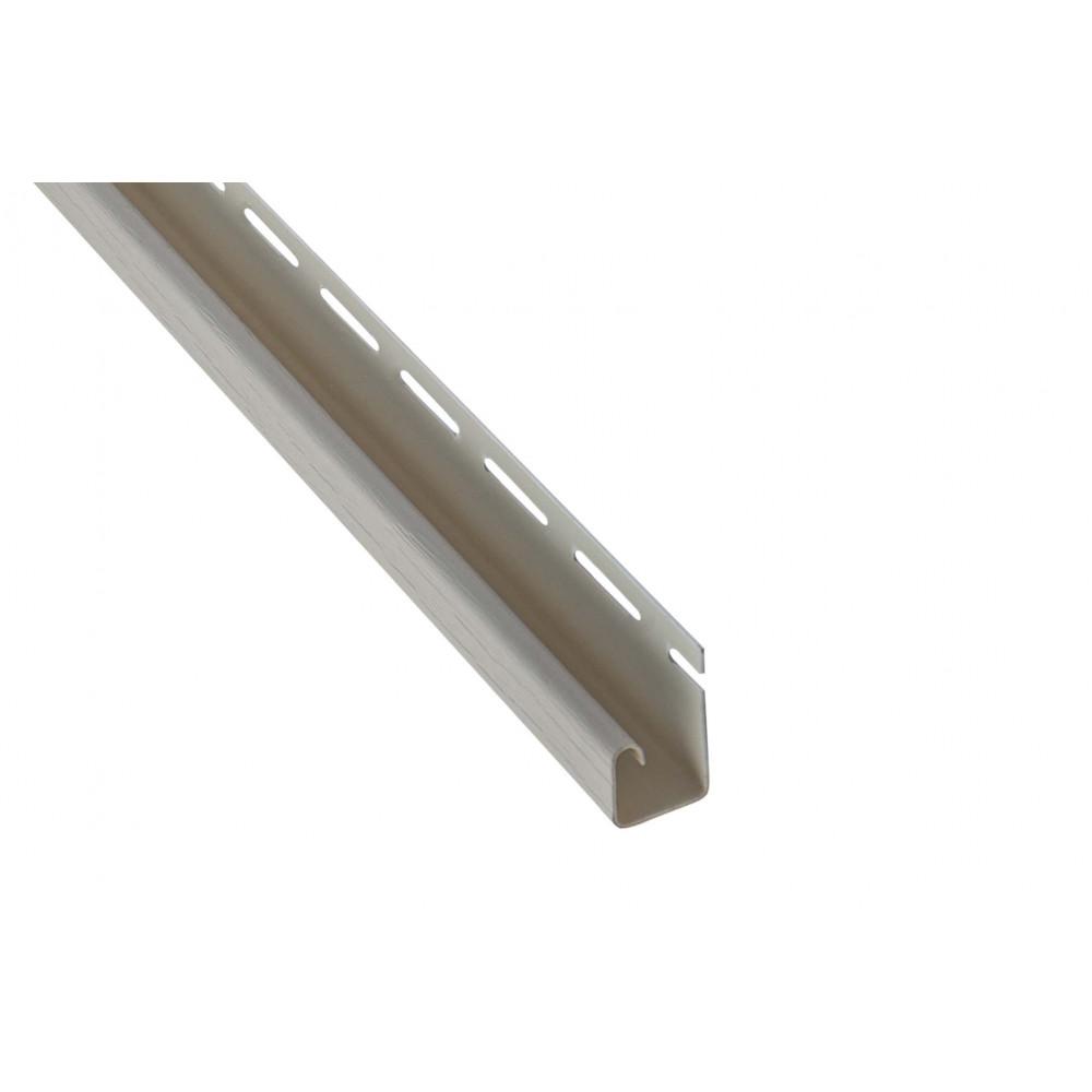 """Планка """"J - trim"""", 3660 мм, цвет Бежевый"""