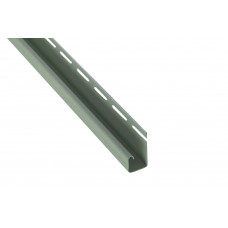 """Планка """"J - trim"""", 3660 мм, цвет Салатовый"""