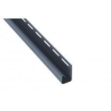 """Планка """"J - trim"""", 3660 мм, цвет Серо-голубой"""