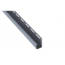 """Планка """"J - trim"""", 3660 мм, цвет Светло-серый"""