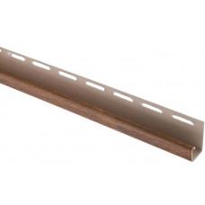"""Планка """"J - trim"""", 3660 мм, цвет Дуб золотистый"""