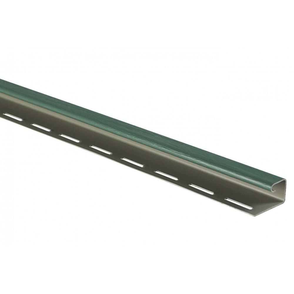"""Планка """"J - trim"""" Зеленая Т-15 - 3,00м"""