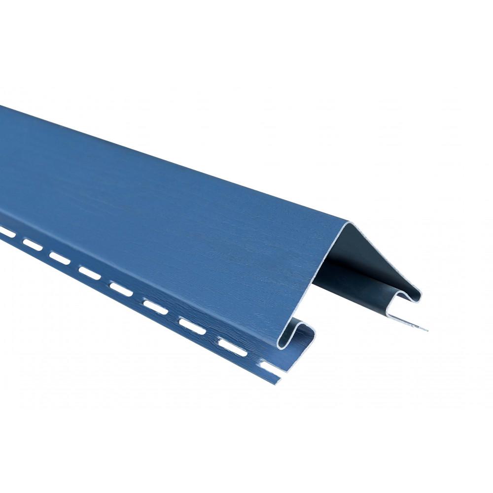 """Планка """"наружный угол"""", 3м, цвет Синяя"""