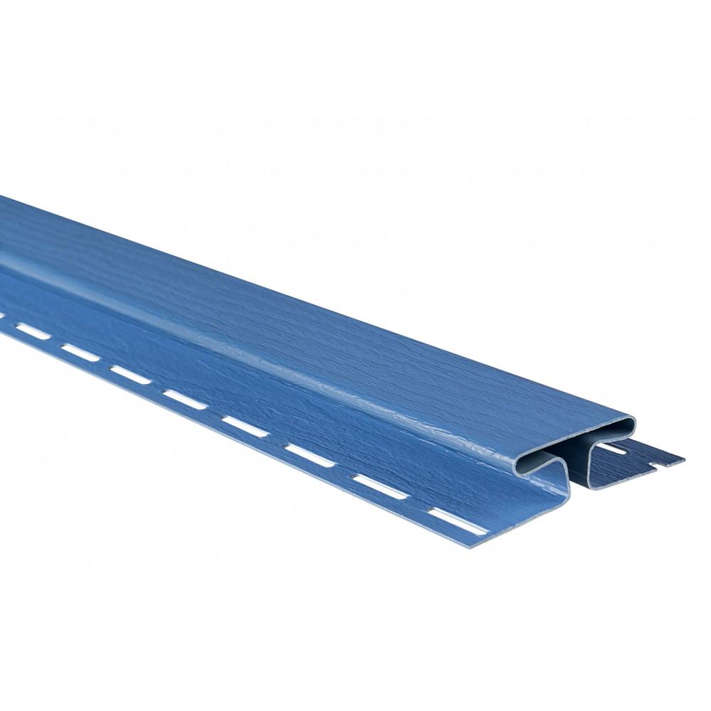 """Планка """"соединительная"""", 3м, цвет Синяя"""