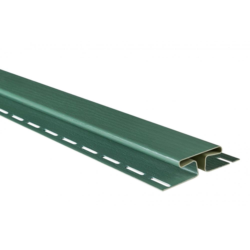 """Планка """"соединительная"""", 3м, цвет Зеленая"""