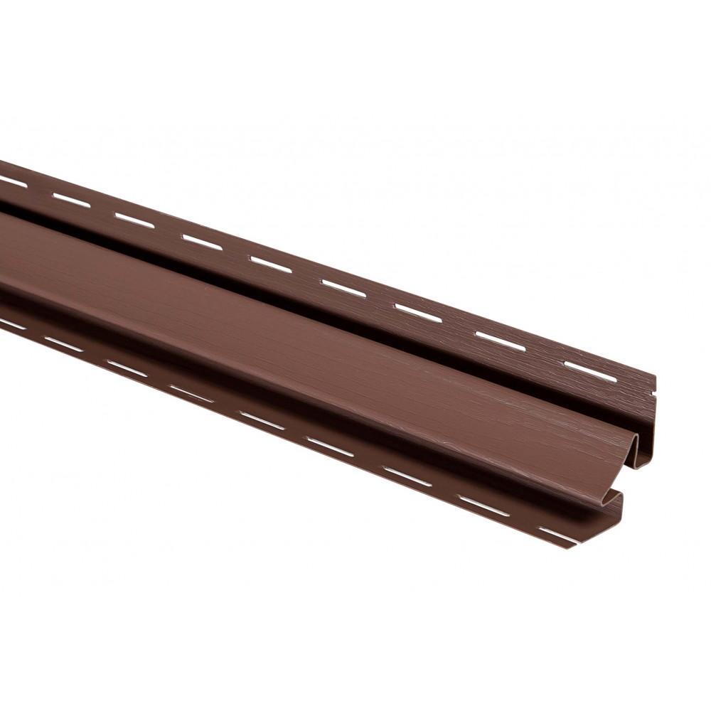 """Планка """"внутренний угол"""", 3м, цвет Красно-коричневая"""