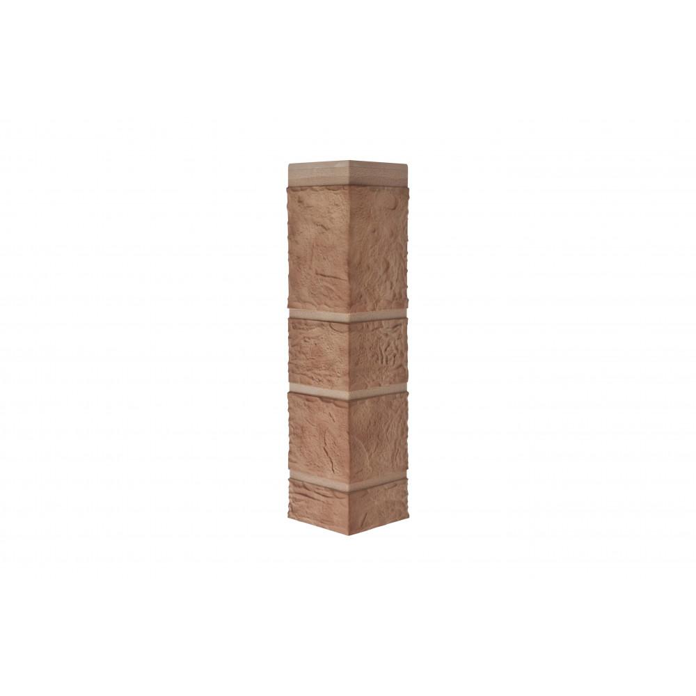 Наружный угол камень (кварцит), 0,47 х 0,11м