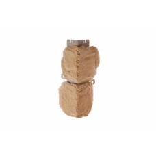 Наружный угол бутовый камень (греческий), 0,44 х 0,18м (н)