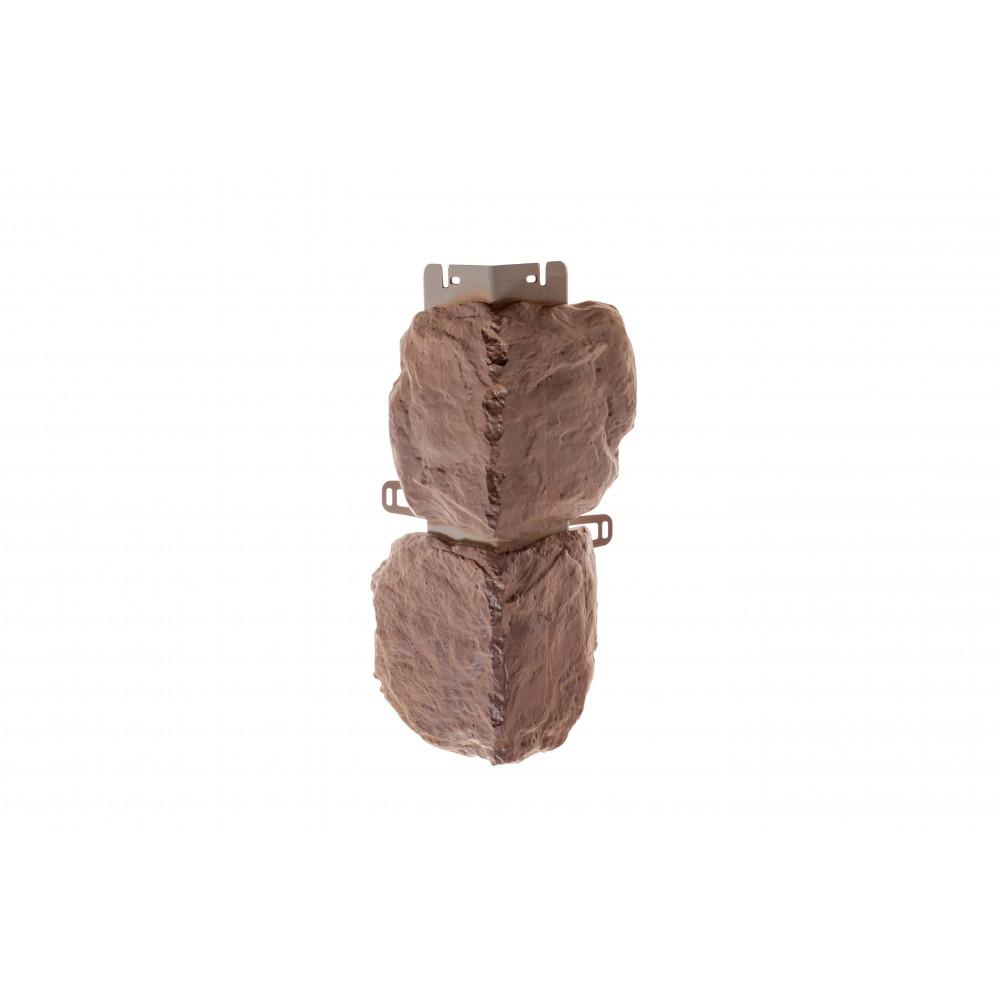 Наружный угол бутовый камень (скифский), 0,44 х 0,18м (н)